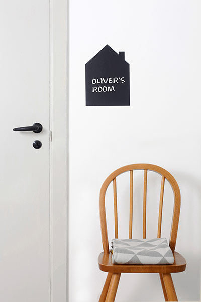 Wallsticker von Ferm Living Black House