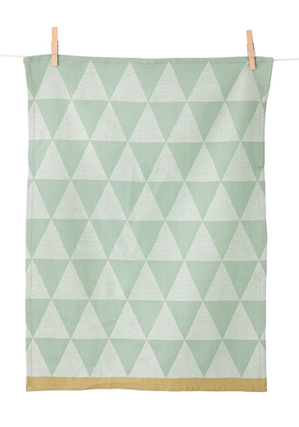 Mountain Tea Towel Geschirrtuch von Ferm Living mint