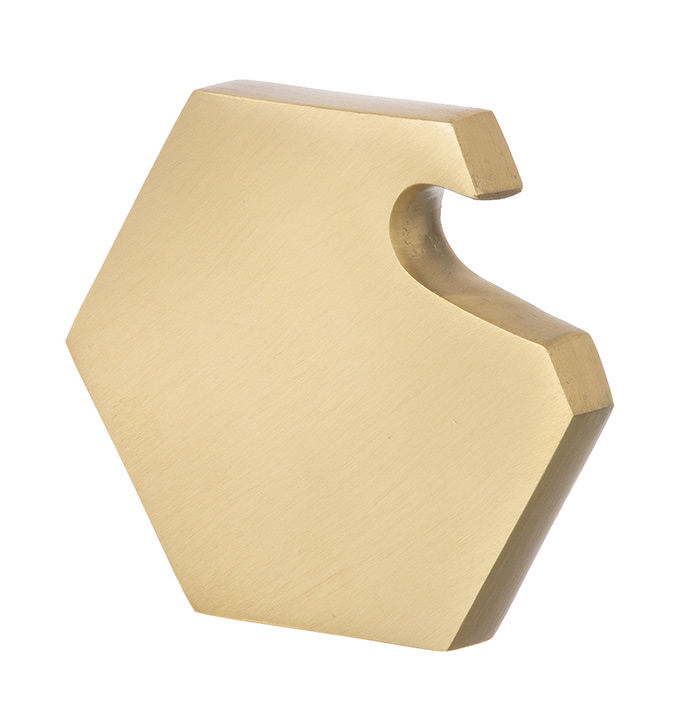 Hexagon-Form Flaschen�ffner Messing von Ferm Living 5708