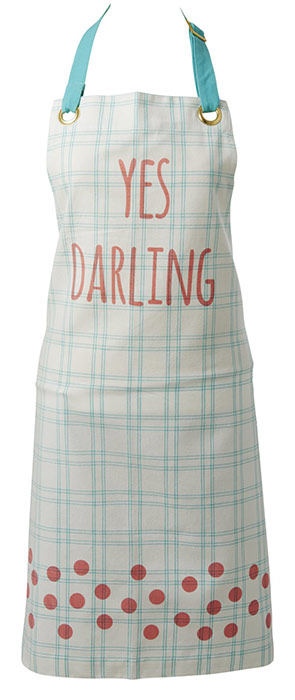 Rice K�chensch�rze green stripes Yes Darling