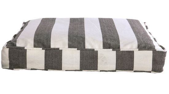 House Doctor Sitzkissenh�lle Stripe by Stripe GW  55x55x6 cm