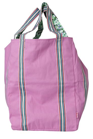 Rice Badetasche Canvas pink