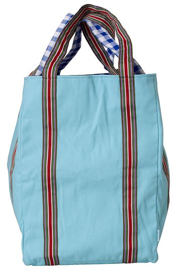 Rice Badetasche Canvas mint