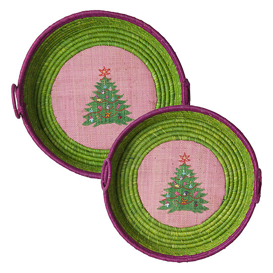 Gro�es Rice Brotkorbset Xmas Tree