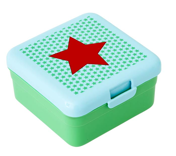 Rice Lunchbox f�r Kinder Star green small