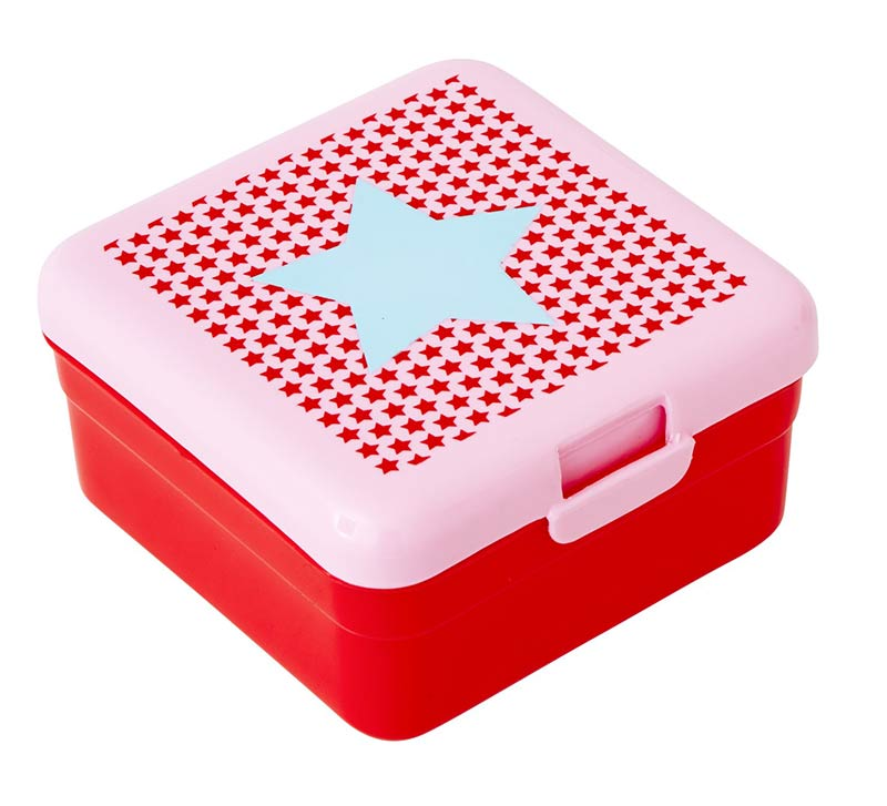 Rice Lunchbox f�r Kinder Star red small