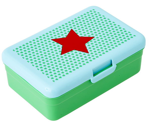Rice Lunchbox f�r Kinder Star green