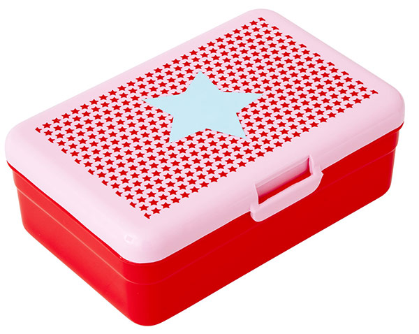 Rice Lunchbox für Kinder Star red