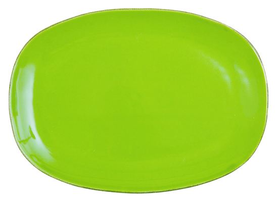 Rice Italian Tableware Teller oval green