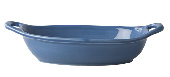 Rice Italien Tableware kleine Nudelsch�ssel dusty blue
