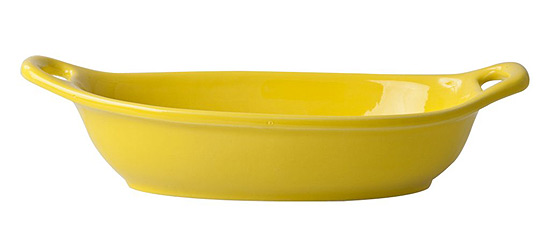Rice Italien Tableware kleine Nudelsch�ssel yellow