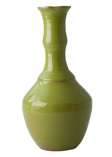 Rice Vase aus Keramik green