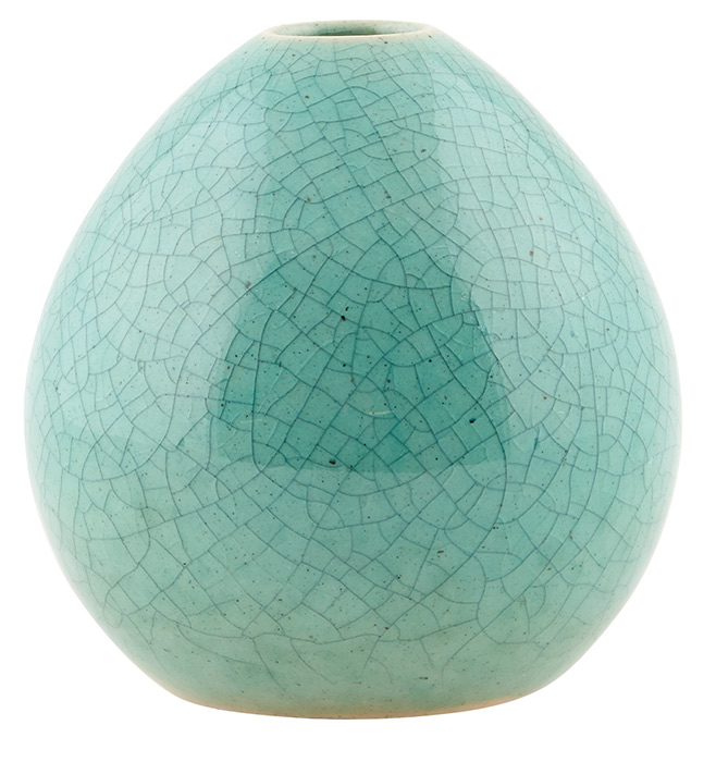 Grüne House Doctor Vase Tropfenform DP0330 mint grün
