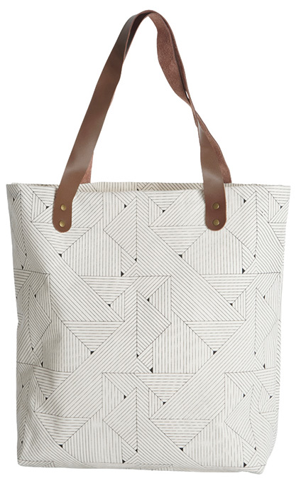 House Doctor Shopper Lines Print