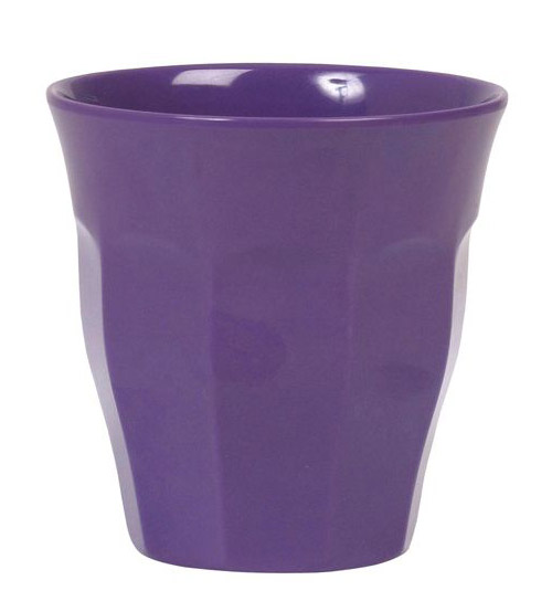 Rice Becher Melamin Medium purple 9 cm
