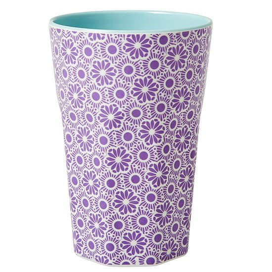Rice Becher Latte Cup Melamin Marrakesh purple