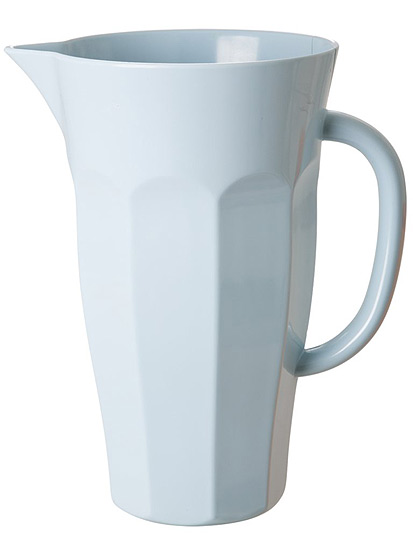 Rice Pitcher Krug Melamin in softblue 1,75L
