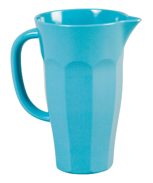Rice Pitcher Krug Melamin t�rkis 1L