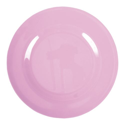 Rice Teller Melamin Dinner Plate darkpink 25 cm