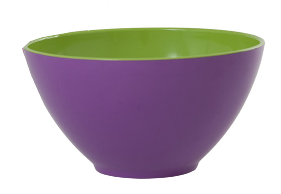 Rice gro�e Sch�ssel Two Tone purple
