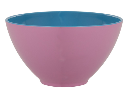 Rice gro�e Sch�ssel Two Tone pink-blue
