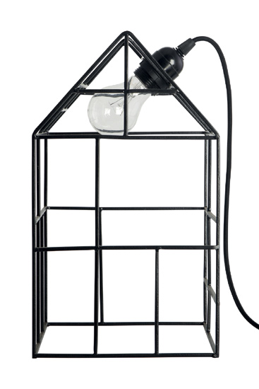 House Doctor Stehlampe Light House Black