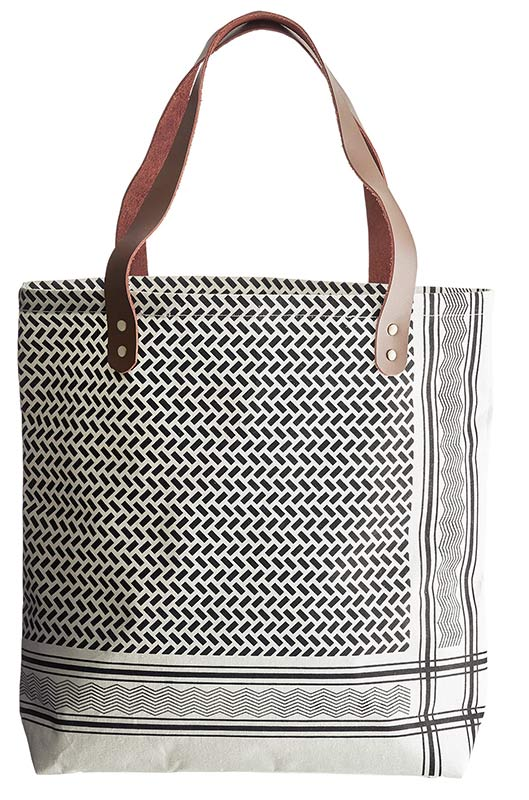 House Doctor Shopper Tasche mit Partisan Print