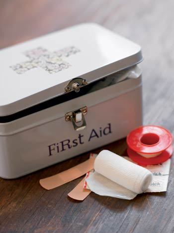 House Doctor First Aid Box