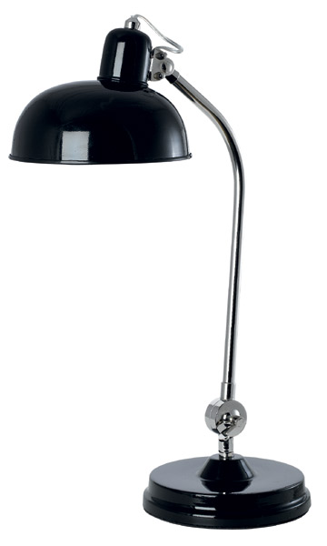 House Doctor Lampe Factory schwarz