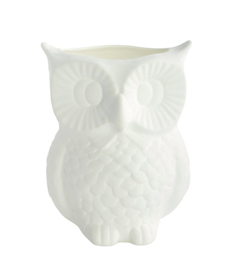House Doctor Vase Owl