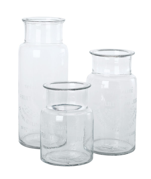 House Doctor Vase Glas Specialite