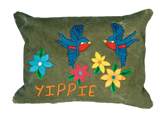 Kissenh�lle Taj Wood & Scherer Yippie Bird grey 30x40cm